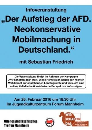 Plakat: Get up Mannheim