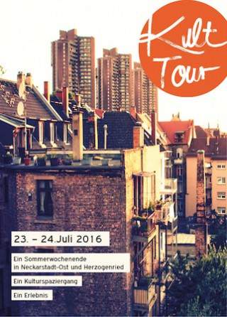 Postkarte KultTour 2016 | Bild: KulturQuer-Querkultur Rhein-Neckar
