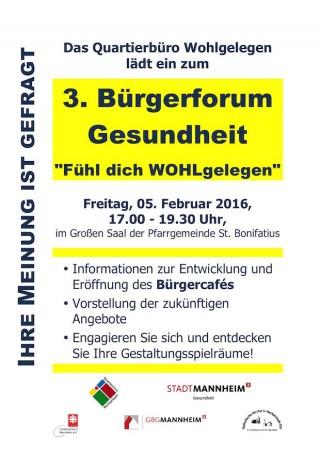 Plakat: Fachbereich Gesundheit