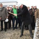 """Erster Hammerschlag – Ochsenpferchbunker wird zum <span class=""""caps"""">""""MARCHIVUM""""</span>"""
