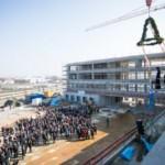 Richtfest für das neue GBG-Verwaltungsgebäude