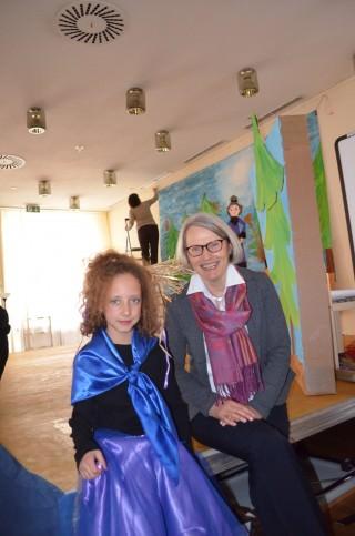 Bildungsbürgermeisterin Dr. Ulrike Freundlieb bei der Eröffnung des fünften Kindertheaterfestivals | Foto: Stadt Mannheim