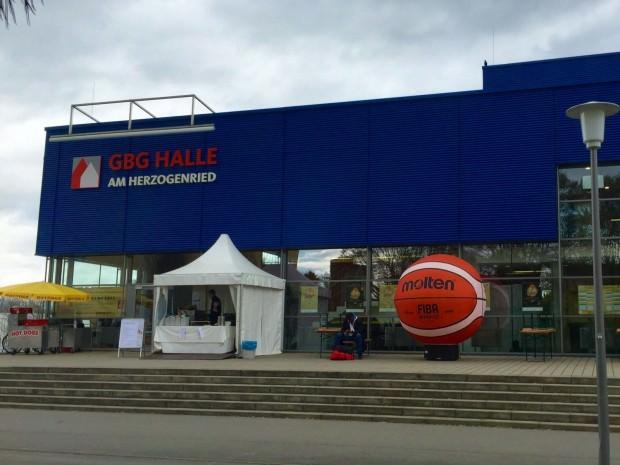 Basketball in der GBG-Halle am Herzogenriedpark | Foto: Neckarstadtblog