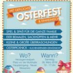 """Großes """"Nice to meet you""""-Osterfest im Herzogenriedpark mit Einheimischen und Geflüchteten"""