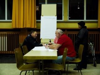 Einfach mal ungezwungen mit der Neckarstädter Polizei über Probleme reden können, wurde als Wunsch geäußert | Foto: Neckarstadtblog