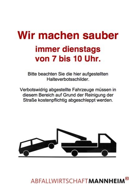 Hinweisschild: Stadt Mannheim