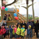 Den Kindern gefällt's! Neues Außenspielgelände am Neckarufer