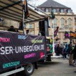 "Fotostrecke: ""Besser unbequem"" – Warnstreik der ver.di Jugend"