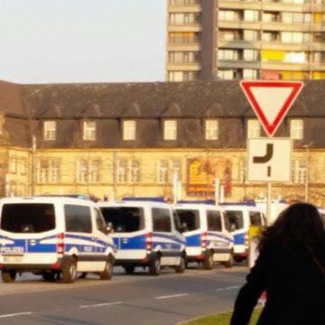 Polizeieinsatz auf dem Alten Messplatz (Symbolbild) | Foto: privat
