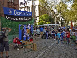Die Torwand ist jedes Jahr der Hit bei den Kids | Foto: Neckarstadtblog