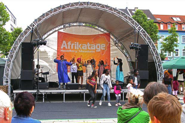 Super Stimmung auf dem letztjährigen Afrikamarkt | Foto: Neckarstadtblog