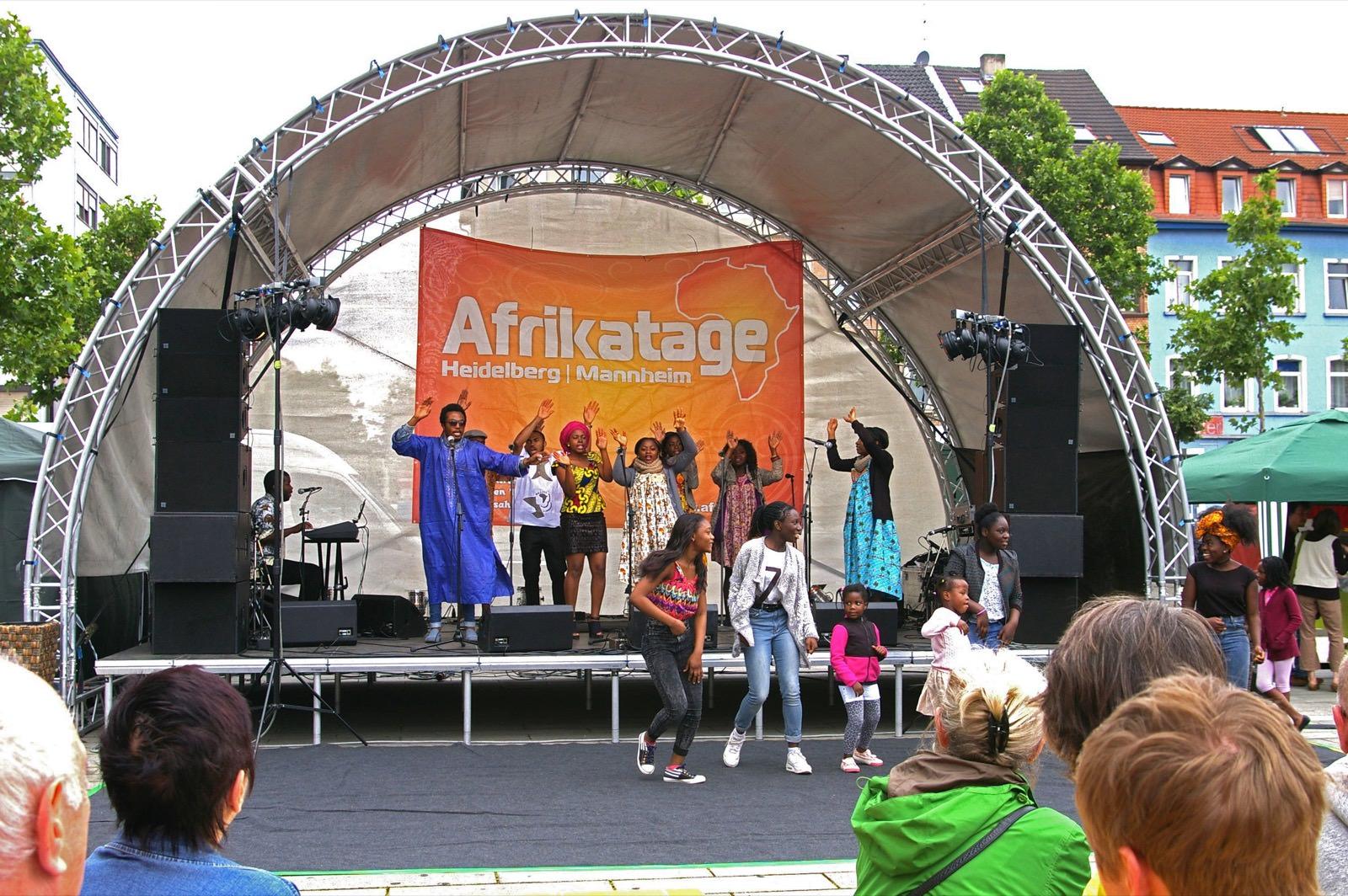 Super Stimmung auf dem Afrikamarkt (Archivbild) | Foto: M. Schülke