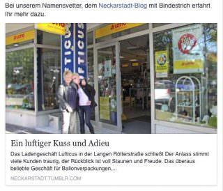 Unsere Verlinkung bei Facebook stieß auf große Resonanz | Foto (im Screenshot): Johannes Paesler