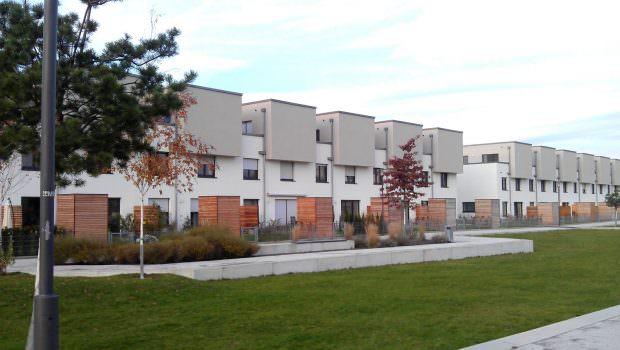 Centro Verde: Lange Zeit ein Ladenhüter, mit dem Betongold-Boom wurde die  städtische Wohnungsbaugesellschaft ihre Eigentumswohnungen doch noch los. Inzwischen wird es sogar für einen Baukulturpreis in Erwägung gezogen | Foto: quadratestadt-mannheim.de