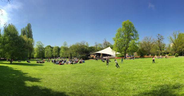 Der sommerliche Blick auf die Konzertmuschel im Herzogenriedpark (Archivbild) | Foto: Neckarstadtblog