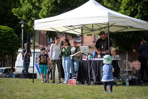 Musik für die ganze Familie | Foto: Community Art Center Mannheim / Jessica Uhrig