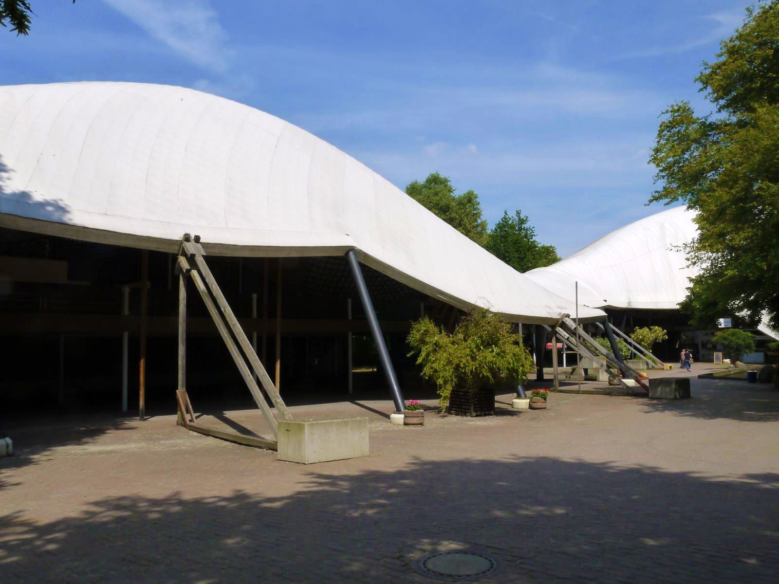 Das charakteristische Planendach der Multihalle (Archivbild) | Foto: M. Schülke