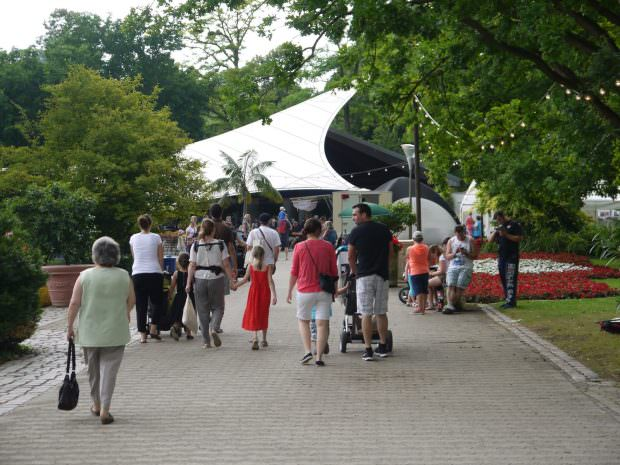 Die Konzertmuschel im Herzogenriedpark | Foto: M. Schülke