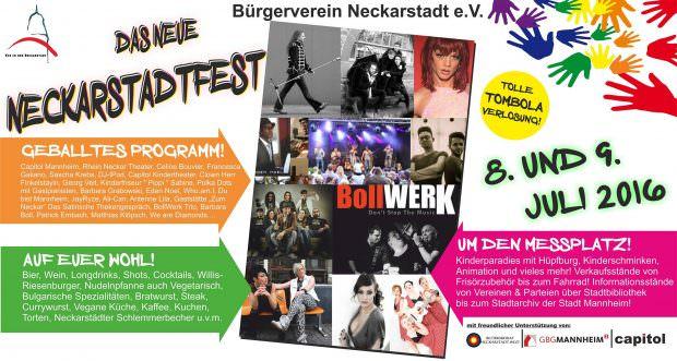 Plakat: BV Neckarstadt
