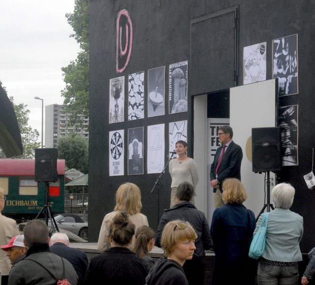 Kulturamtsleiterin Sabine Schirra und Kulturbürgermeister Michael Grötsch | Foto: Ruth Fanderl