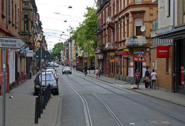 Die Mittelstraße in Neckarstadt-West | Foto: Neckarstadtblog