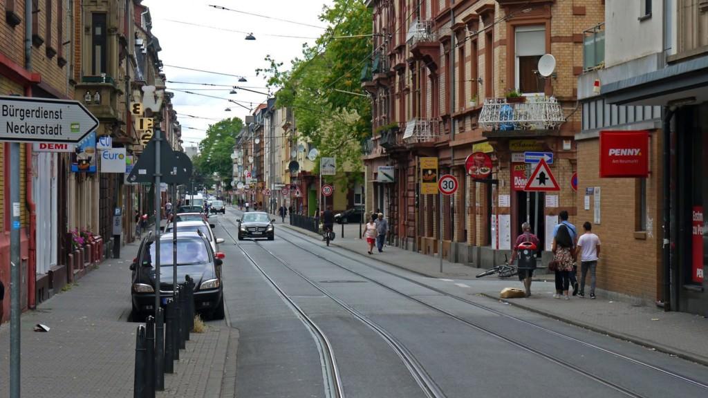 Die Mittelstraße in Neckarstadt-West | Foto: M. Schülke