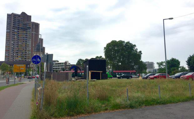Die südliche Platzhälfte – seit vielen Jahren ein Dauerprovisorium | Foto: Neckarstadtblog