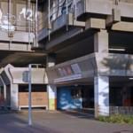 Cabrioverdeck in Garage der Neckarpromenade aufgeschlitzt