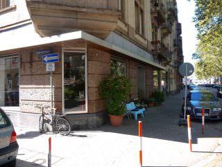 Das Café Cohrs an der Ecke zur Kobellstraße | Foto: Neckarstadtblog