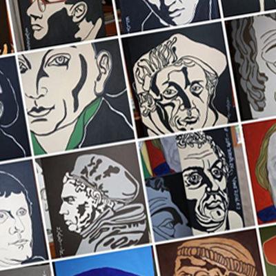 Lutherbilder von Kurt Arnold | Bild: Pressefreigabe