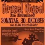 """""""Grusel Wusel"""" auf dem Abenteuerspielplatz Erlenhof"""