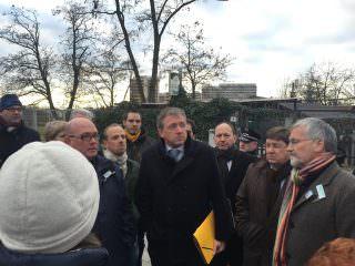 Im Februar 2015 hatte sich fast die komplette Stadtspitze – alle vier Bürgermeister und der OB vor Ort versammelt und sich die Nöte der Anwohner angehört (Archivbild 2015) | Foto: Neckarstadtblog