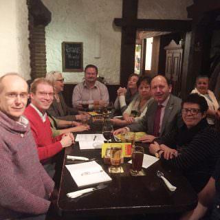 KPV-Themenabend mit Erstem Bürgermeister Christian Specht (rechte Seite, Mitte) | Foto: CDU Mannheim