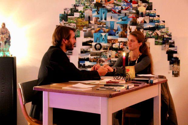 Rike Schweizer und Mike Jakob lasen historische Liebesbriefe | Foto: Ruth Fanderl
