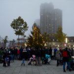 Weihnachtsbaum in der Neckarstadt wird eingeweiht