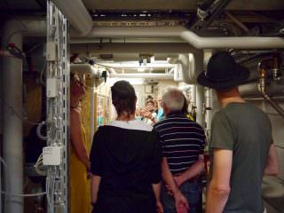 Die Paraffinspeicheranlage: Das Schmuckstück von umBAU² Turley befindet sich direkt im Keller | Foto: Neckarstadtblog