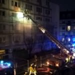 Brand in der Uhlandstraße