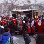 Wer demonstriert da auf dem Alten Messplatz für Aleppo?