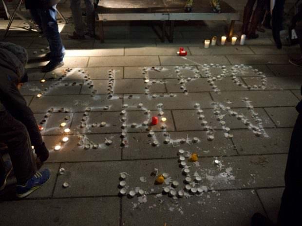 Auch den Opfern von Berlin wurde an diesem Abend gedacht | Foto: Neckarstadtblog