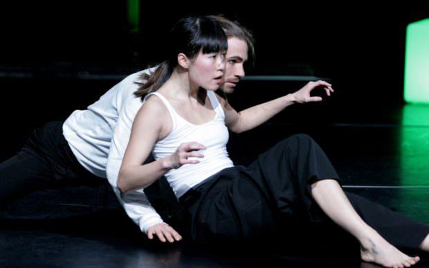 Die Mitglieder des Mannheimer La_Trottier Dance Collective Michelle Cheung und Tobias Weikamp | Foto: Meike Lindek (Pressefreigabe Theater-Felina-Areal)