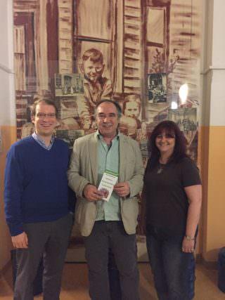 Ulrich Coqui (Mitte) mit den CDU-Bezirksbeiräten Karin Urbansky (r.) und Christian Stalf (l.) | Foto: CDU Neckarstadt