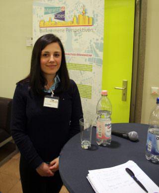 migrants4cities teilnehmerin fjolla myftari 320x387 - Neue Perspektiven auf die Stadtentwicklung
