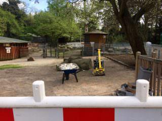 Wegen Bauarbeiten geschlossen. Ein Park-Highlight für jedes Kind steht derzeit nicht zur Verfügung | Foto: M. Schülke