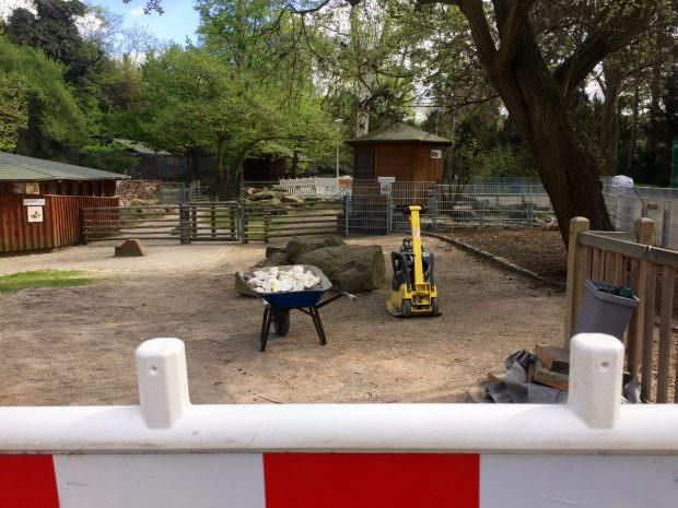 Wegen Bauarbeiten geschlossen. Ein Park-Highlight für jedes Kind steht derzeit nicht zur Verfügung   Foto: Neckarstadtblog