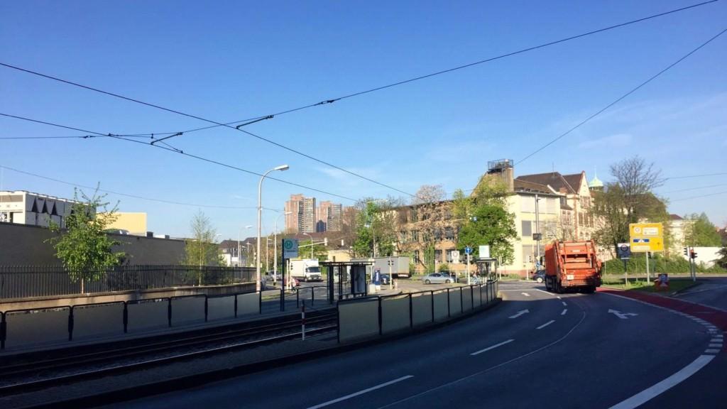 Die Haltestelle Bibienastraße | Foto: M. Schülke