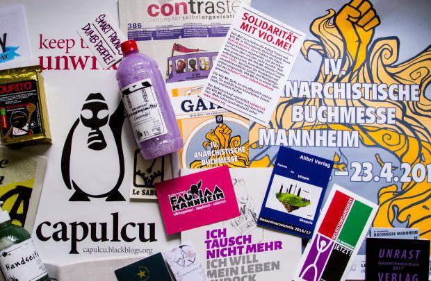 Seife und Selbstorganisation verbindet man allgemein nicht unbedingt mit Anarchie | Foto: Isabel Dehmelt