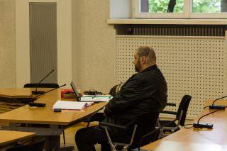 Christian Hehl beim Prozessauftakt | Foto: CKI