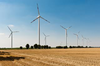Die MVV hat im Juni 2010 den Teil des Windparks Plauerhagen in Mecklenburg-Vorpommern mit den acht neuen Windkraftanlagen gekauft | Foto: MVV-Pressebild