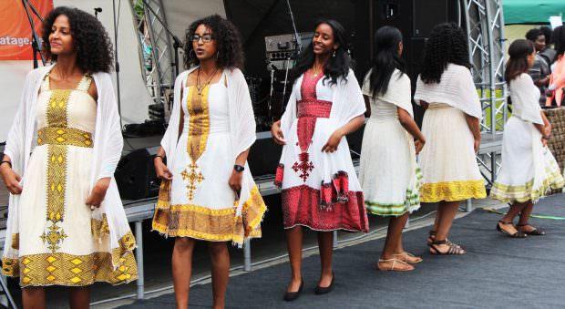 Die Tanzgruppe junger eritreischer Frauen begeisterte bereits in den letzten Jahren | Foto: Till Weber