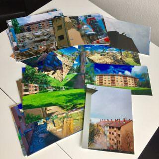Zwei Jahre dokumentierte der leitende Redakteur des Neckarstadtblogs den umstrittenen Abriss der GBG-Häuser | Foto(s): Manuel Schülke